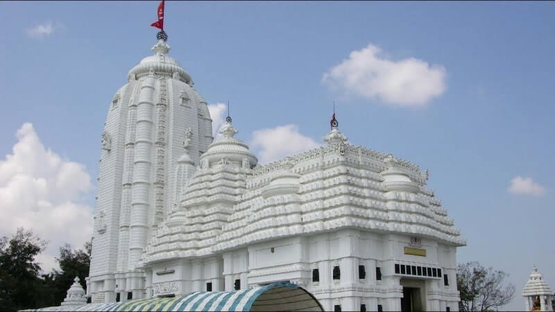 White colored temple on hill top famous as Sabara Shrikhetra is one of the most important Koraput tourist places