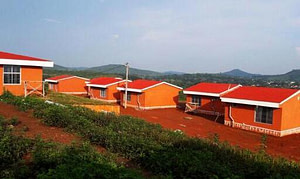 Tribal style eco cottages at Daringbadi nature camp