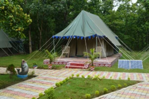 Luxurious Swiss tent at Similipal nature Camp