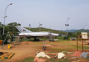 Prototype of fighter aircraft placed on HAL museum ground