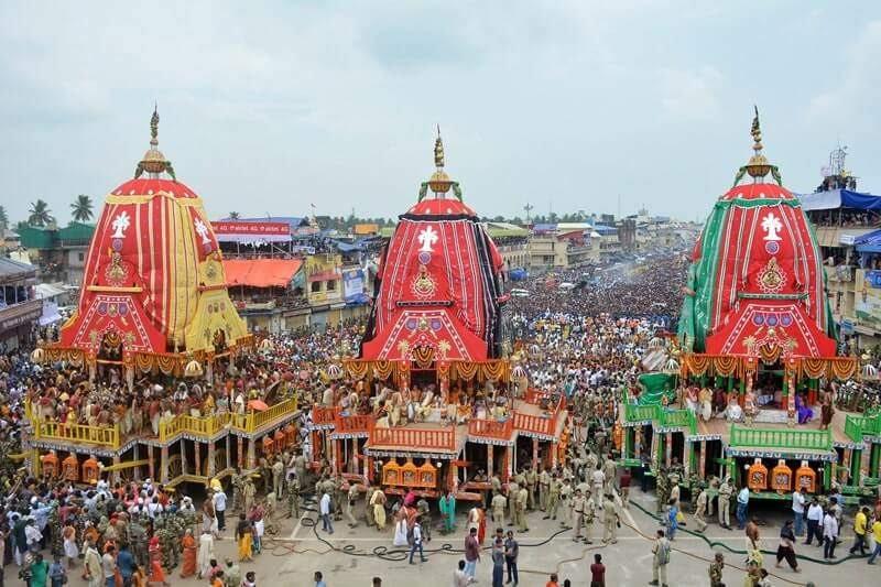 Rath Yatra-Puri-Odisha Must Visit