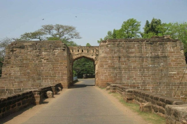 Entry gate of Barabati Fort the iconic structer in Cuttack and a must visit for tourists