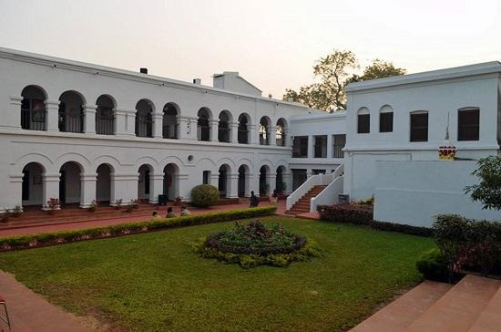 White building where Netaji Subhash chandra Bose was born is a popular tourist place in Cuttack