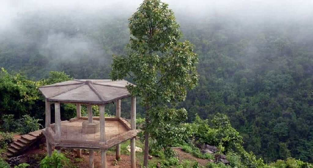 Watch tower at Mandasaru in Kandhamala district of Odisha-one of the top tourist places in Kandahamal
