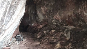 Entrance of Anahat Cave