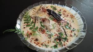 Brinjal cooked in Curd sauce famous as Dahi Baingam