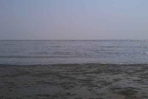 water receding at Chandipur beach makes it one of the most unique beachs in Odisha
