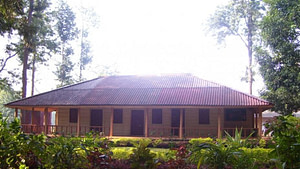 Bungalow constructed of wood is a major tourist attraction at Belghar willife sanctaury